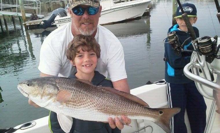 red fish fishing charter
