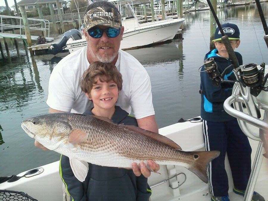 red fish fishing charter