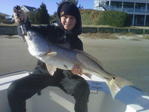fishing charter topsail island nc