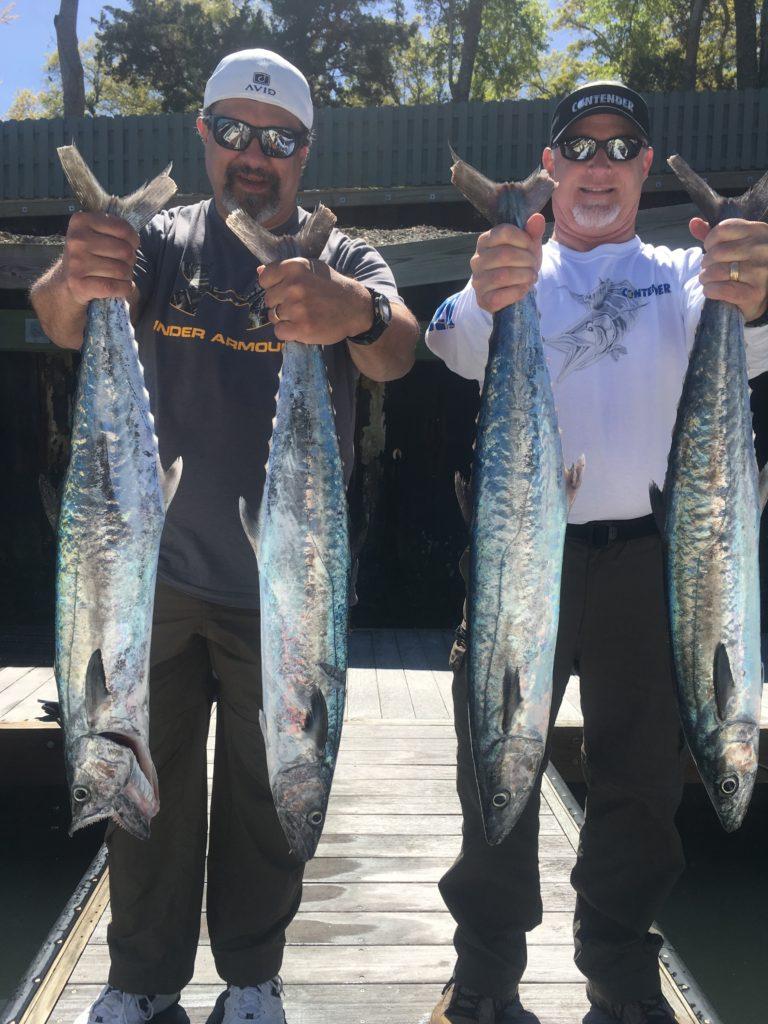 2017 fishing trips Wilmington fishing charters